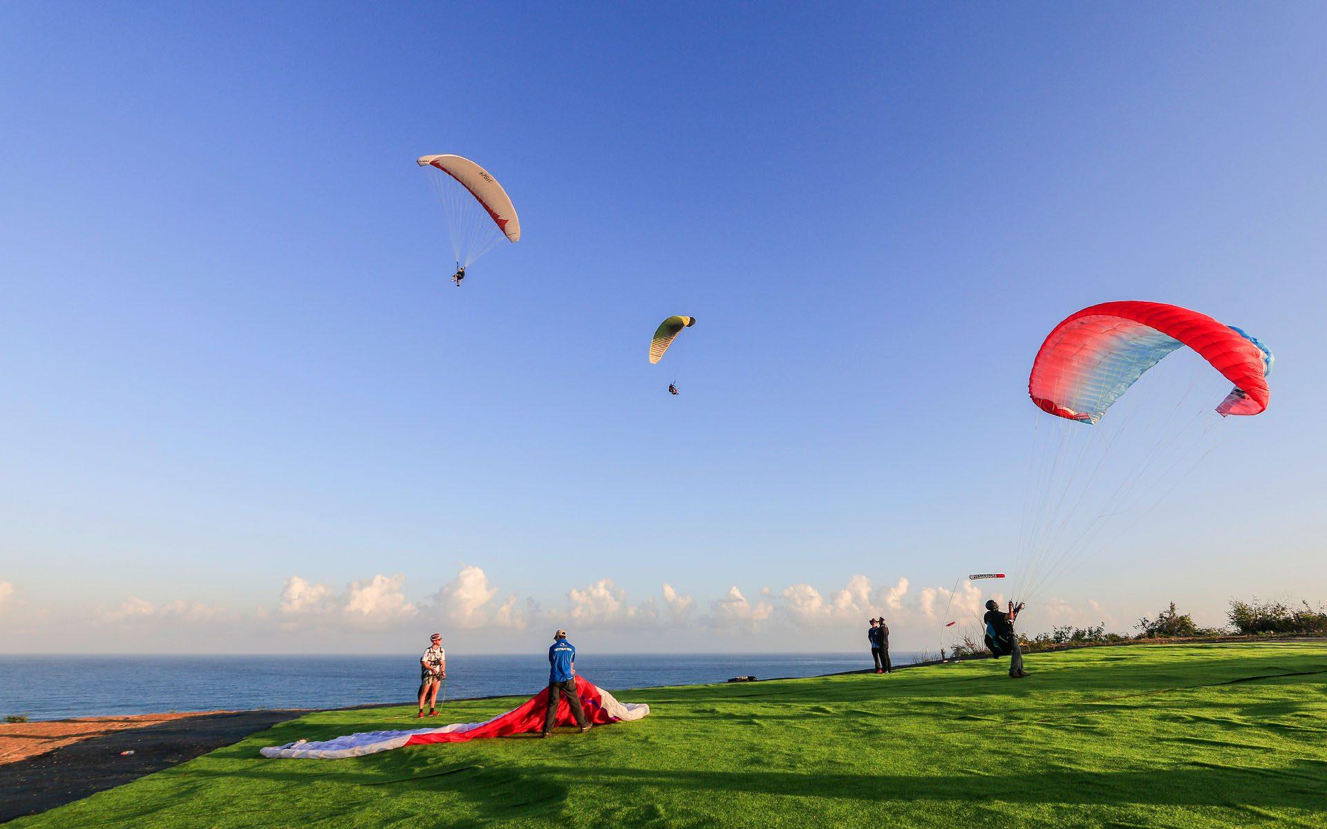 Riug Paragliding Take off area
