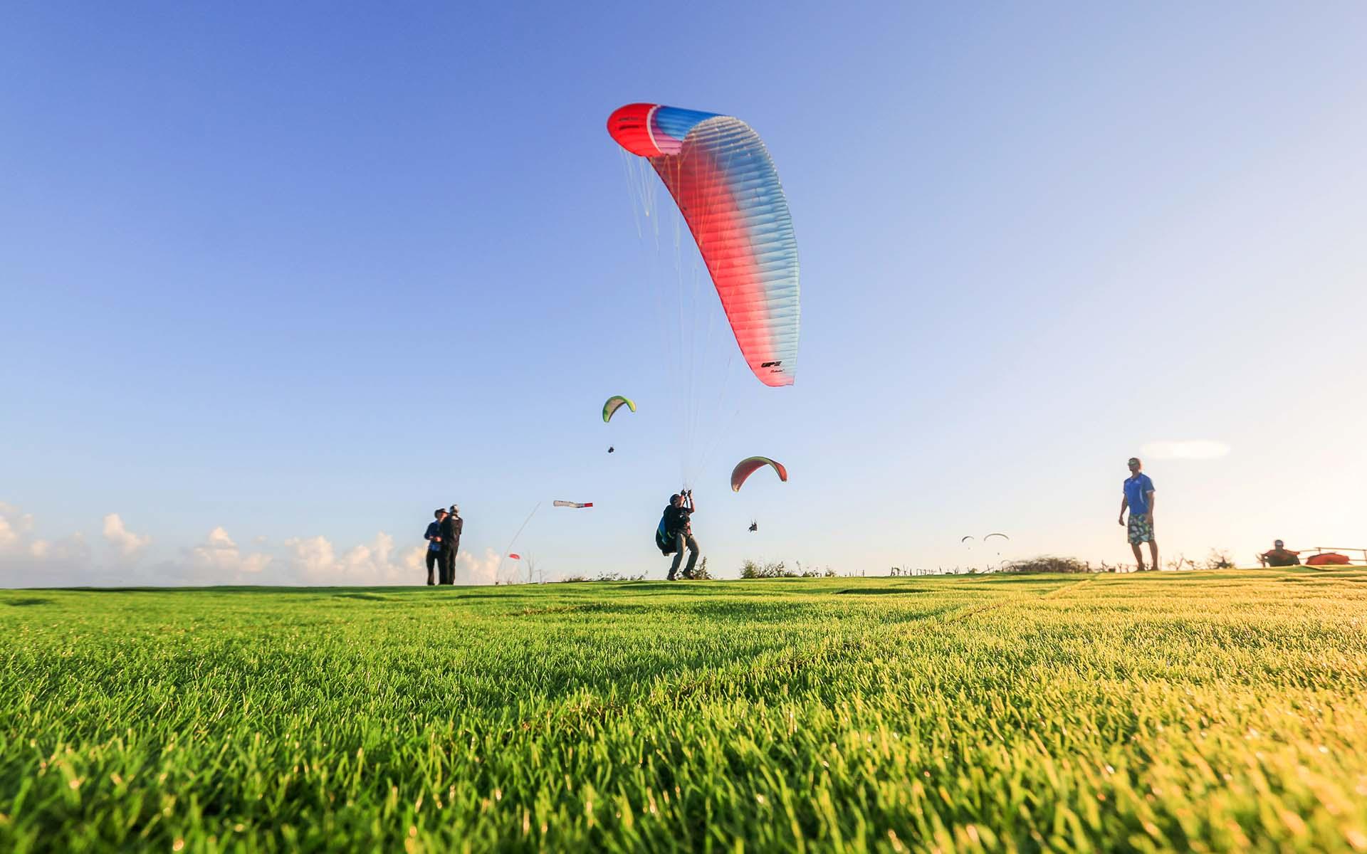 Riug Paragliding landing area